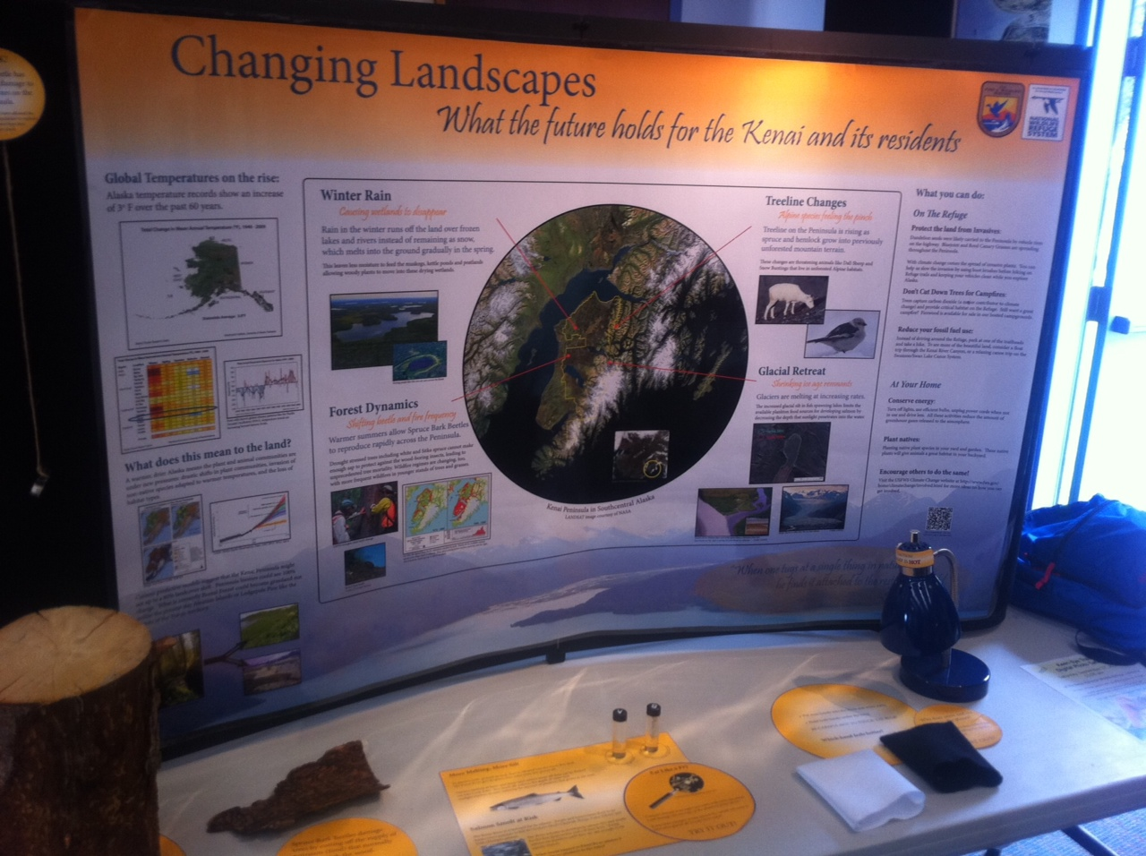 Changing Landscapes traveling display