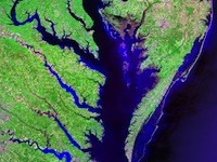 Landsat of Chesapeake Bay