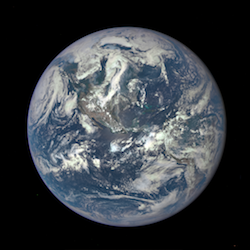 DISCOVR Mission image of Earth