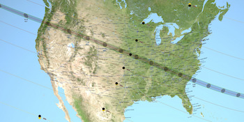 Eclipse 2017 Map