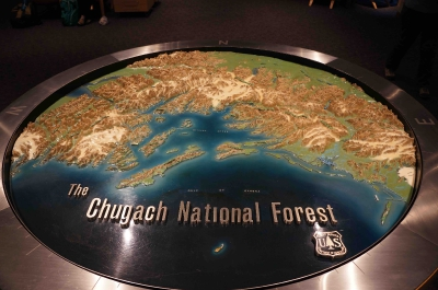 Portage Field Trip - Chugach NF Relief Map