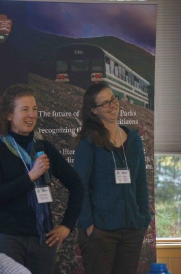 Participants presentations - Laura Buchheit & Emma Johnson, Glacier Bay NP