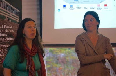 Participants presentations - Stephanie Ford & Rachel Jencks, Murie Science and Learning Center